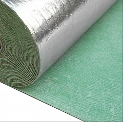 Waterproof Aluminum Foil 2MM Laminated Rubber Unde...